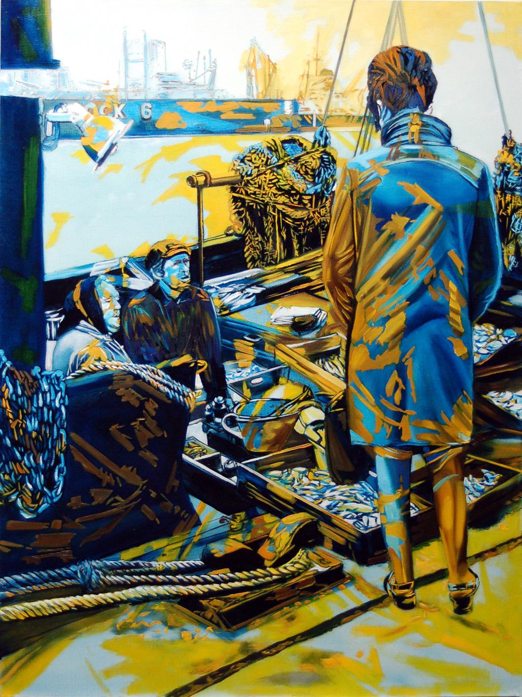 2011, Fischmarkt Bademantel